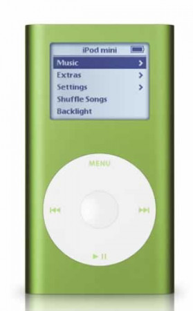 apple ipod6gb   green