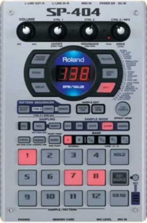 roland sp-404    *open box