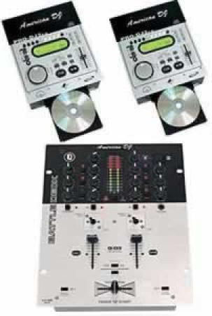 american audio pro-dj2fx-sys ii