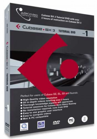 askvideo dvd-cubase-level1
