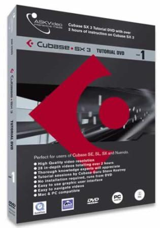 askvideo dvd-cubase-level1
