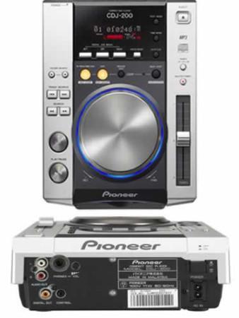 pioneer cdj200    new