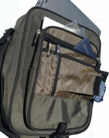 Namba SHAKA Laptop Messenger Bag, Killer Bee