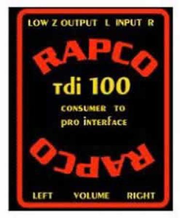 rapcohorizon tdi-100   new
