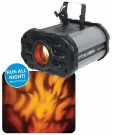 adj fire-burst
