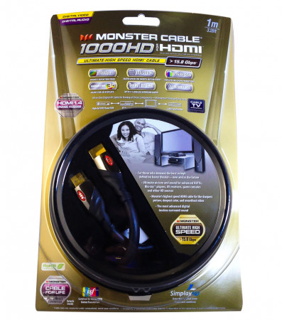 monster cable mc1000hd  2 meter