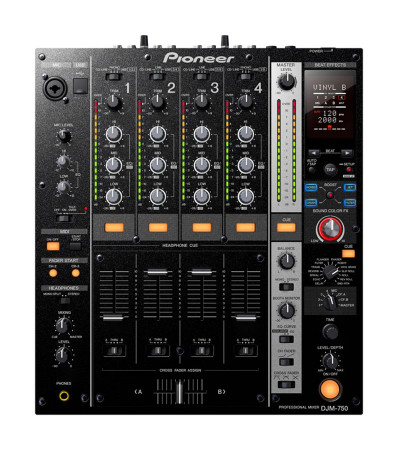 Pioneer DJM-750 / RMX DJ Effector Package, W/ Rmx1000