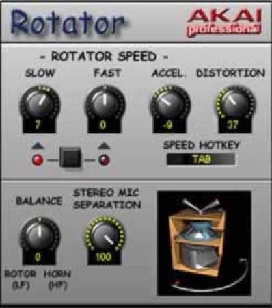 akai rotator
