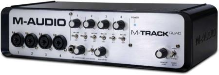 m-audio mtrackquad