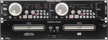 american audio mcd710    new
