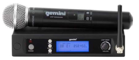 gemini uhf6100m