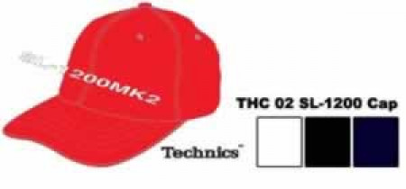 technics hat-thc2  red l-xl