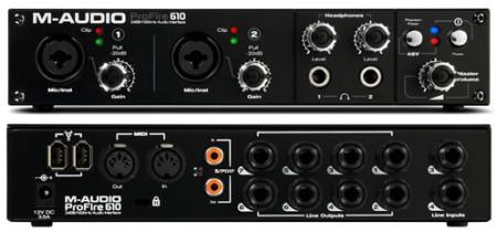 m-audio profire610
