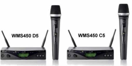 akg wms450    headset