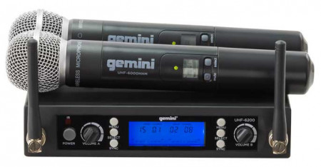 gemini uhf6200m