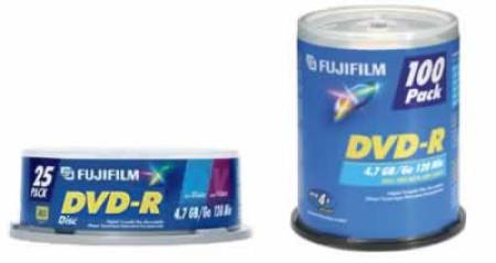 fuji dvd-r fuji 100 pack