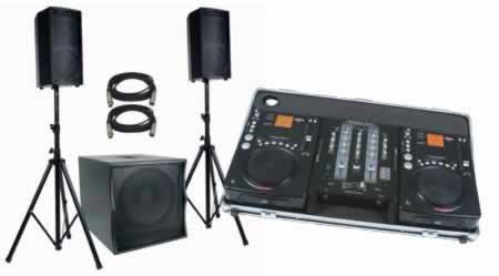american audio cdi300tripackii