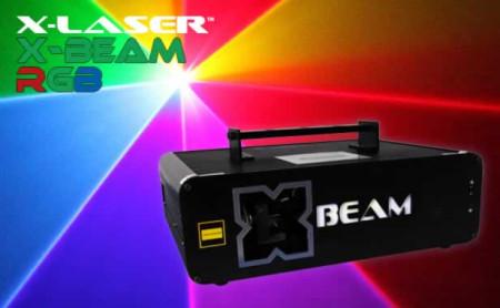 x-laser xbeam2krgb