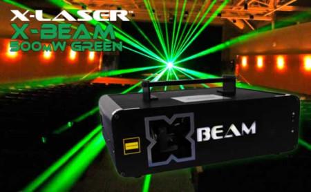 x-laser xbeam500g