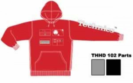 technics clo-thhd03red xl