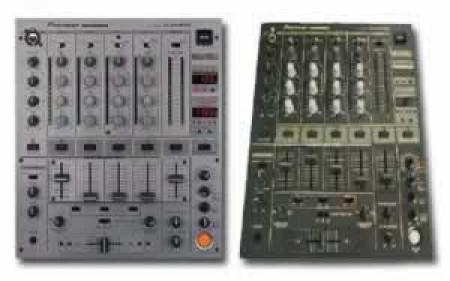 pioneer djm-600   silver