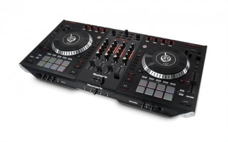 Numark NS7II 4-Channel DJ Performance Controller w/ Flight Case