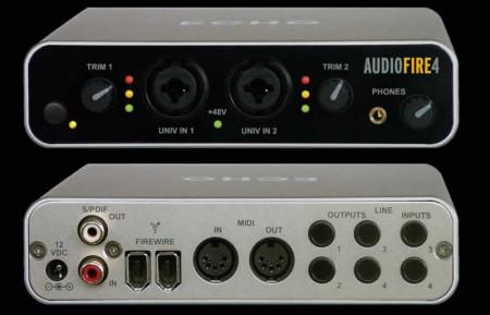 echo audiofire4