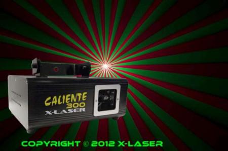 x-laser caliente300
