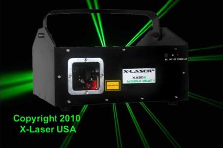 x-laser xa50g
