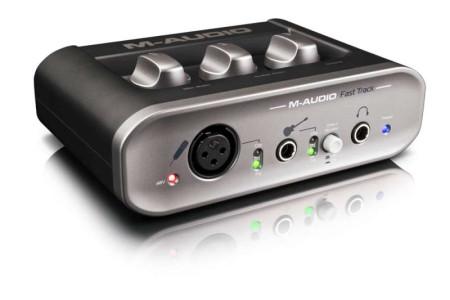 m-audio fasttrack2