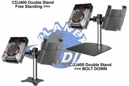 spacetek cdj400dbl free stand