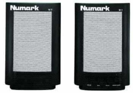 numark m-1       black