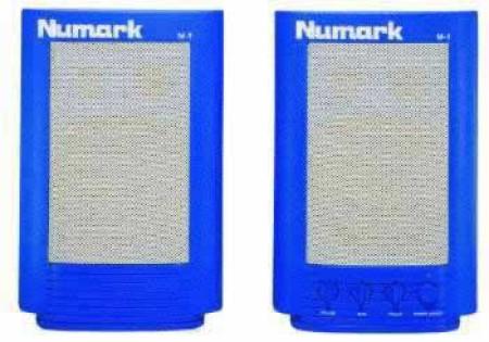 numark m-1       blue