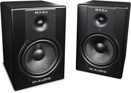 m-audio bx8a-dlx  new