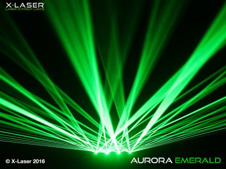 x-laser aurora-emerald