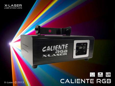 x-laser calientergb
