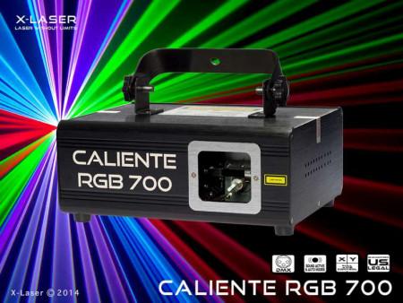 x-laser caliente700