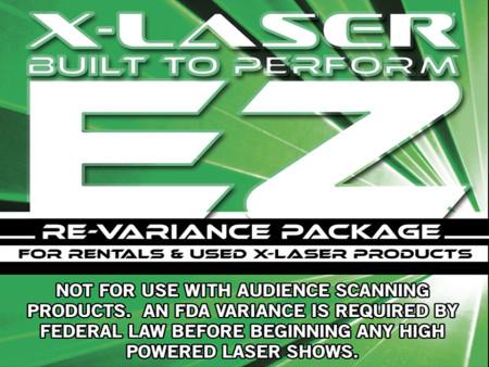 x-laser ezrevariance