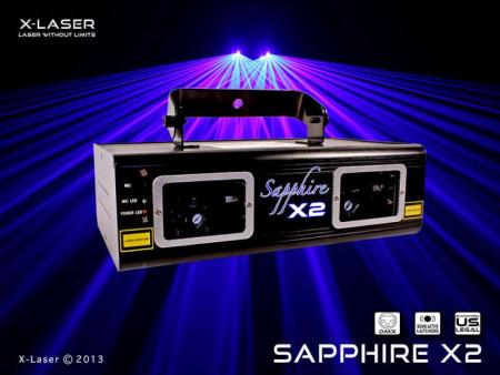 x-laser sapph-500 new