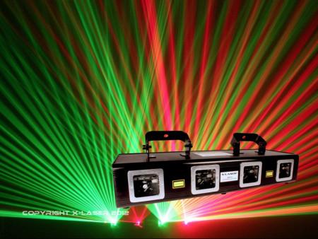 x-laser x4rg      new