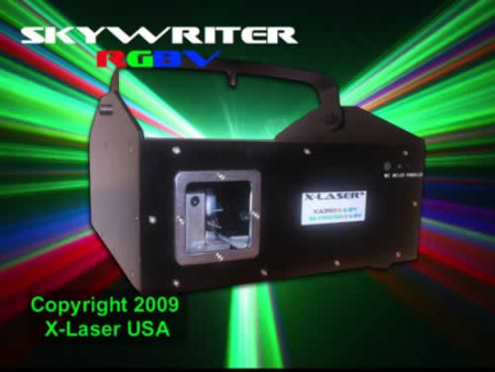 x-laser xa350rgbv