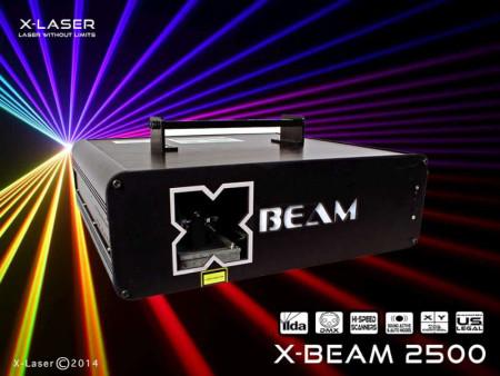 x-laser xbeam2500