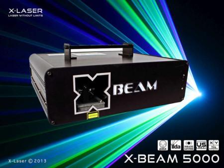 x-laser xbeamrgb5000