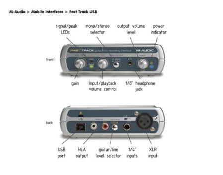 m-audio fasttrack