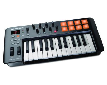m-audio oxygen25iv