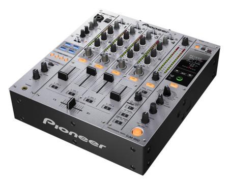 Pioneer DJM-850 Performance DJ Mixer, Silver