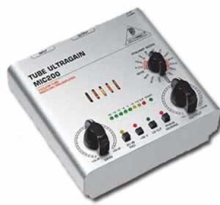 behringer mic200