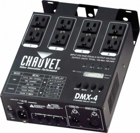 chauvet dmx-4     new