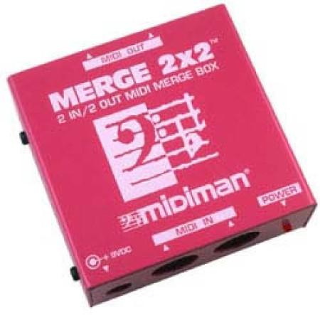 m-audio merge2x2