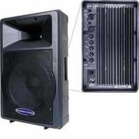 american audio apx powerpro powered 15 speaker new planet dj. Black Bedroom Furniture Sets. Home Design Ideas